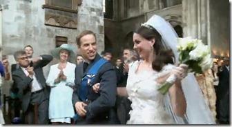 Ingreso a la boda real