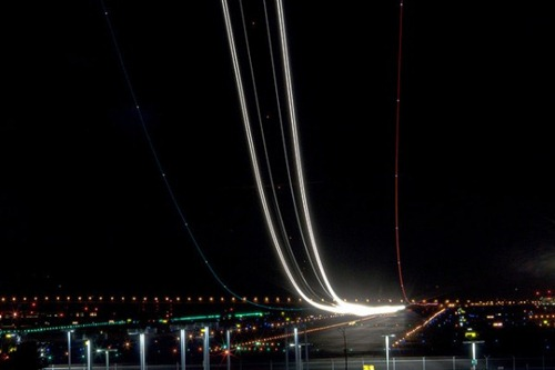 Aeropuerto en larga exposicion 2