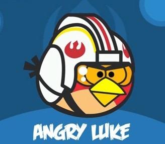 Angry Birds como star wars