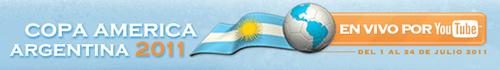 Copa América Argentina 2011 por YouTube