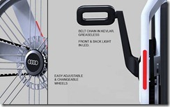 Bicicleta Audi concepto de Arash Karimi 4