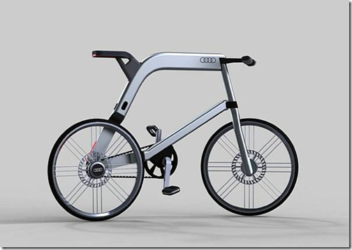 Bicicleta Audi concepto de Arash Karimi