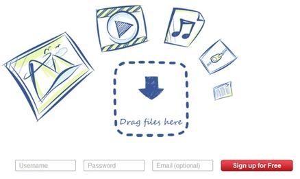 Minus compartir archivos en la web