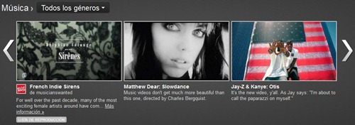 YouTube Music Listas de reproduccion