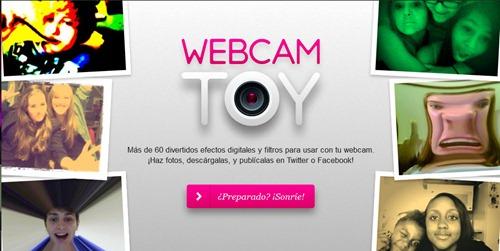 Efectos fotos webCam Webcam Toy
