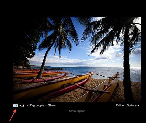 Google plus fotos con botón  1