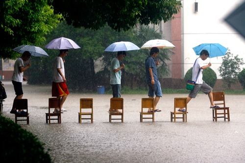 TOPSHOTS-CHINA-WEATHER-FLOODS