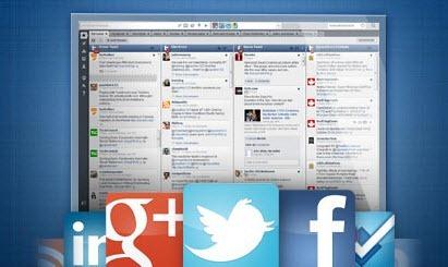 Redes sociales  dashboard