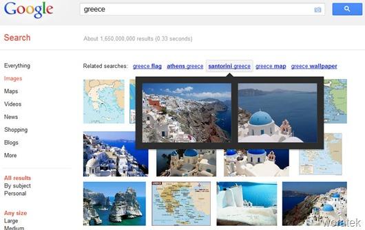 Google images búsquedas relacionadas