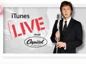 McCartney-en vivo por iTunes