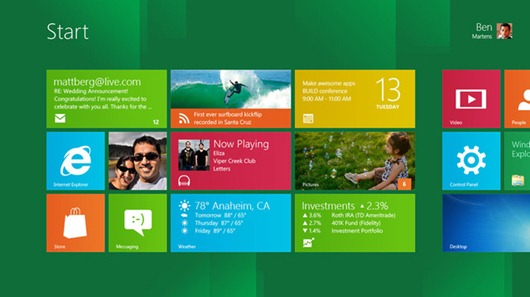 windows8-metro primer vistazo