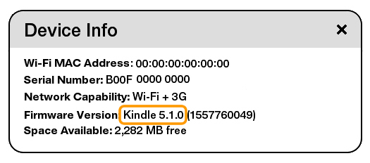 KindleTouch update firmware