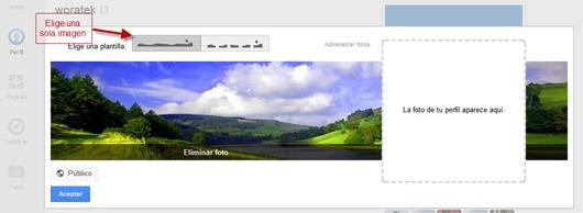 Portada de Google Plus 2