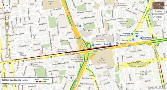 20-06-2012 Google Maps Trafico 3