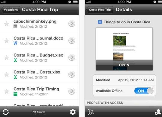 29-06-2012 GoogleDrive para iOS