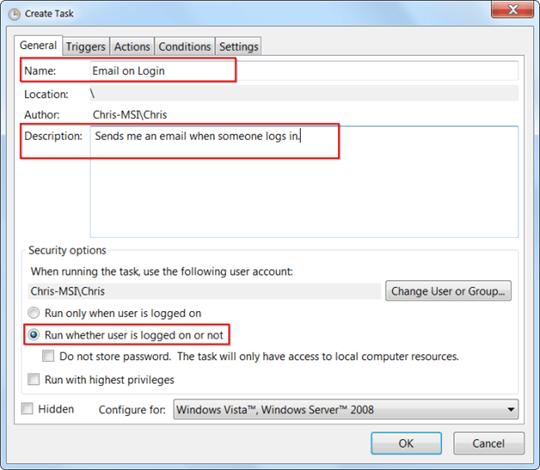 07-09-12 Windows Task Scheduler