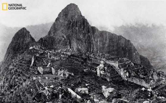 Machu Picchu la ciudad de los incas en 1913 excavaciones Bingham