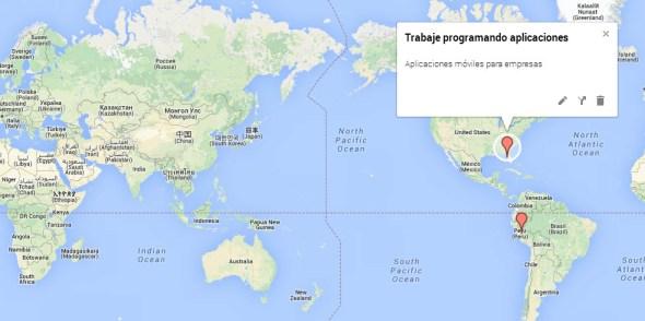Modelos de un curriculum vitae con Google Maps