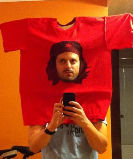 T shirt del Che Guevara