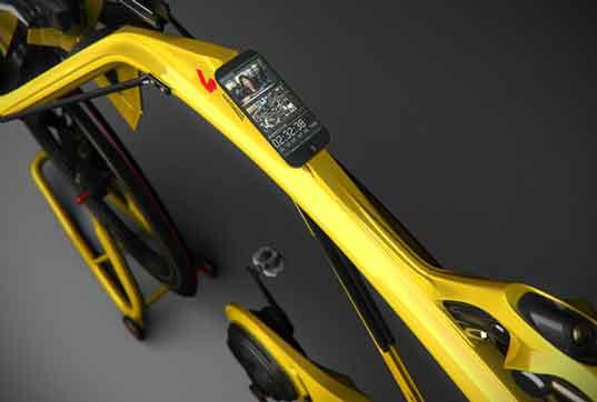 Cargador en bicicleta para smartphones