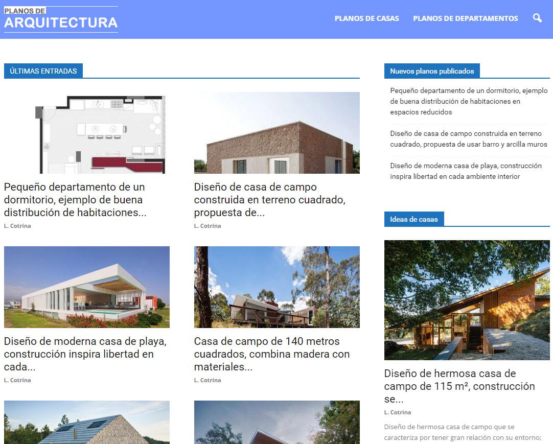 Planos de arquitectura casas