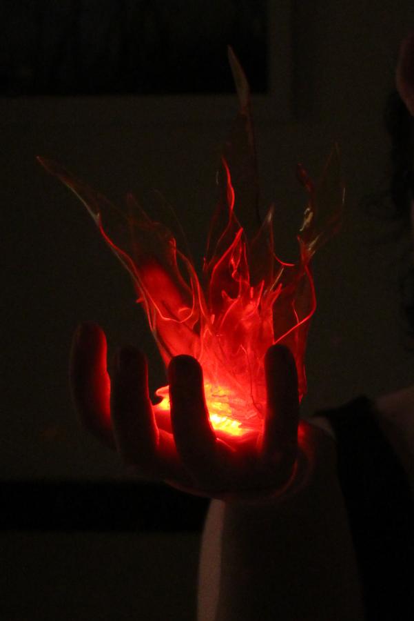 Making a TranspArt Handheld Flame  Worbla Thermoplastics