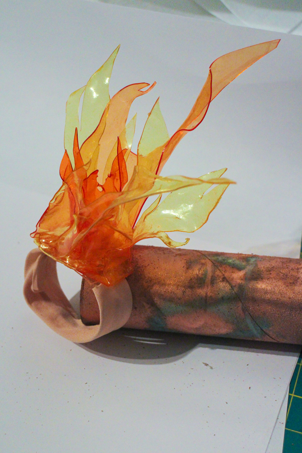 Making a TranspArt Handheld Flame  Worbla Thermoplastics