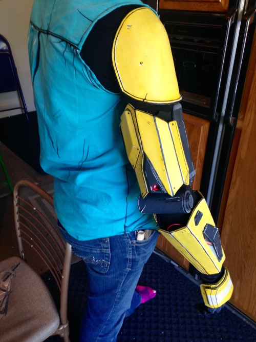 How To Make Rhys Robotic Arm Thing Worbla Thermoplastics