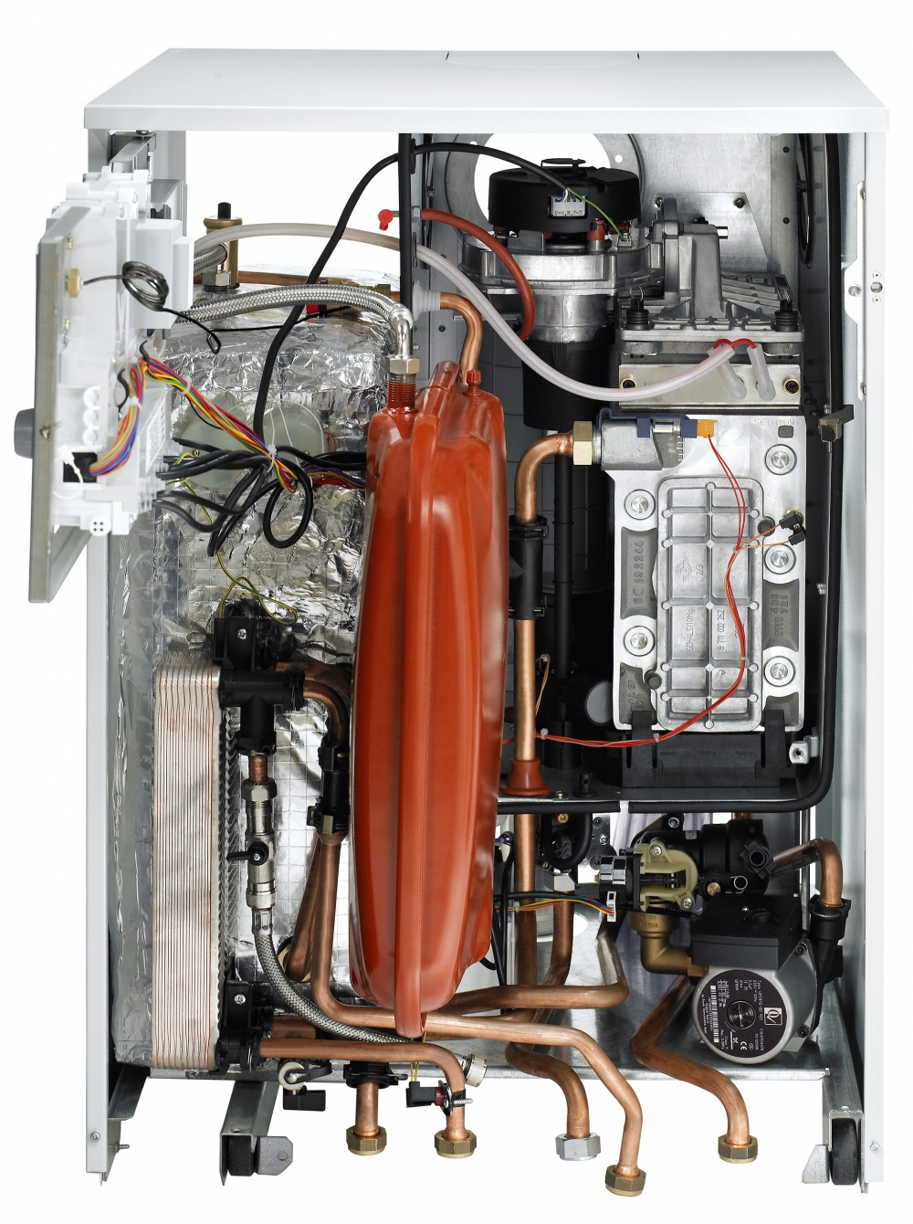 hight resolution of internal view gas combi