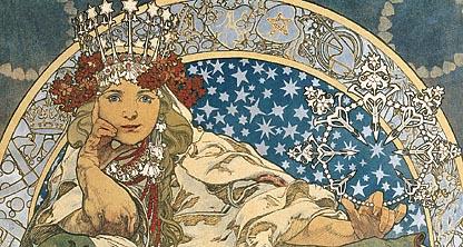 Alphonse Mucha The Spirit Of Art Nouveau Worcester Art
