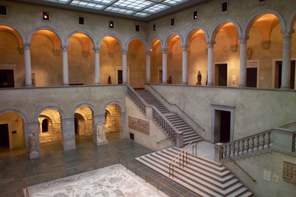 Renaissance Court at the Worcester Art Museum