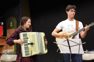 I can't remember if we've ever had an accordion at the Worcester contra dance!