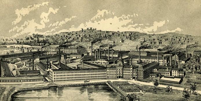 Industrialization Worcester Historical Museum