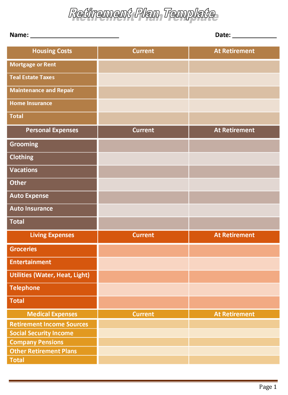 spreadsheet for retirement planning - Tier.brianhenry.co