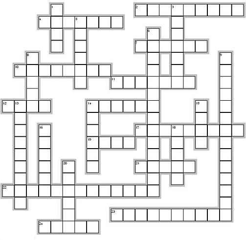 Christian Crossword Puzzles Provide Great Review of the