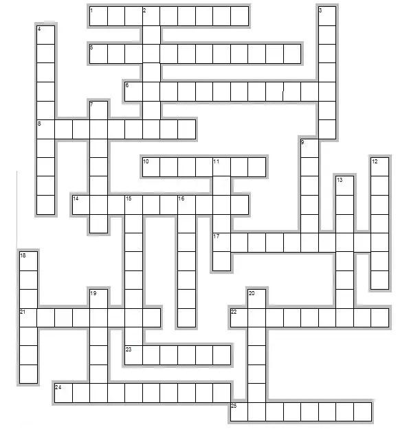Sports Crossword Puzzles