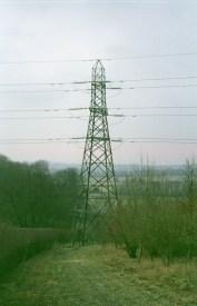 The second down's pylon.
