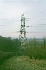 The second down's pylon.