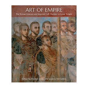 Art of Empire: The Roman Frescoes and Imperial Cult Chamber in Luxor Temple jacket