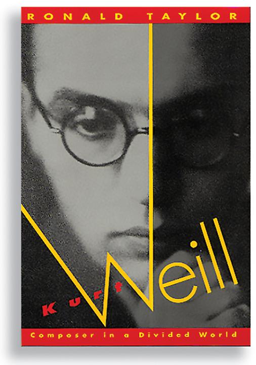 Kurt Weill biography jacket