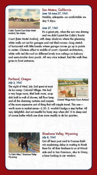 Road trip booklet 3