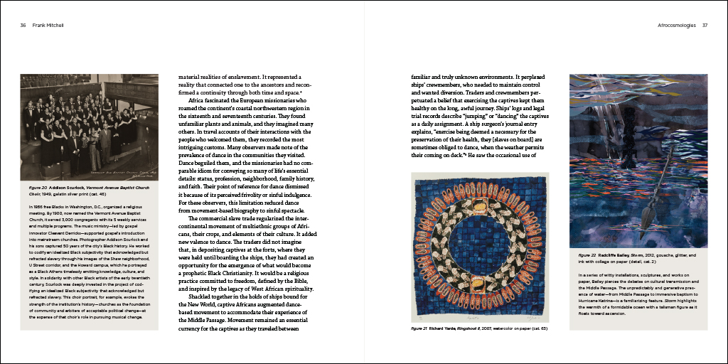 Afrocosmologies text spread 8