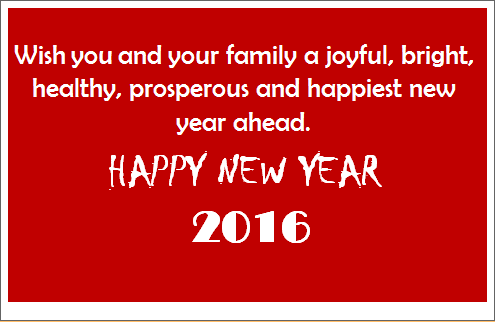Printable Editable MS Word New Year Greeting Cards Word