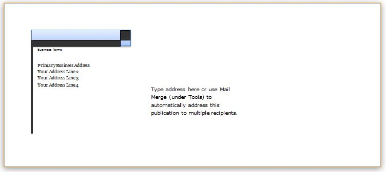 40 Editable Envelope Templates for MS Word  Word  Excel