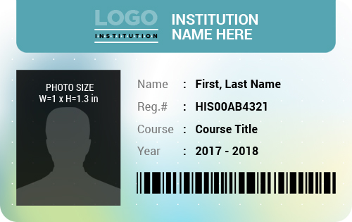You can use an id template to identify a person's school, office or even country. 10 Student Id Badge Templates In Editable Printable Format Word Excel Templates