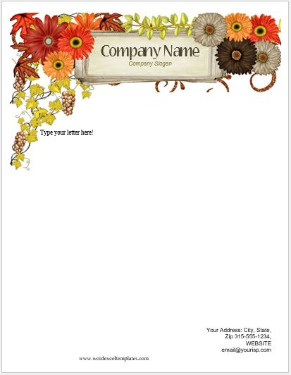letters with letterheads