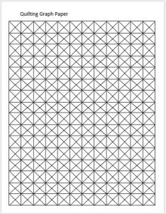 Quilting graph paper template also papers for ms word  excel templates rh wordexceltemplates