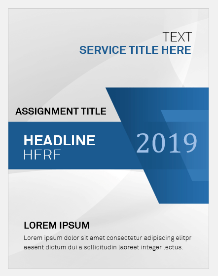 Assignment Cover Page Templates for MS Word  Word  Excel