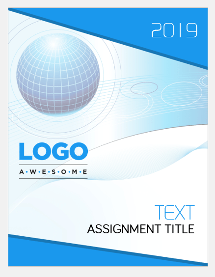 Assignment Cover Page Templates For MS Word Word Amp Excel Templates