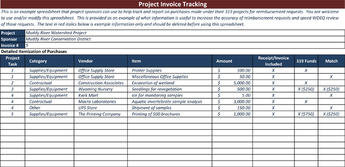 Invoice Tracking Template To Track Your Sales And Receivables